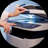 Ксерокопирование документов, чертежей